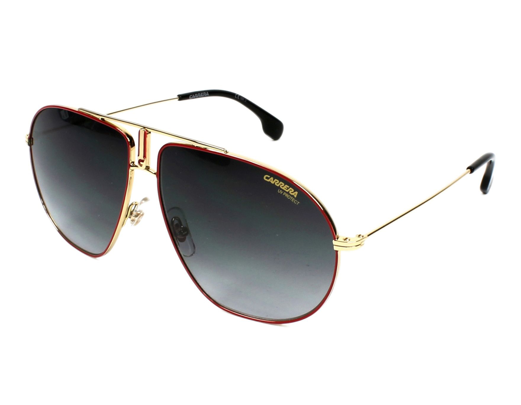92e5974f64 Details about NEW Carrera Bound AU2 9O Gold Red   Dark Grey Gradient  Sunglasses