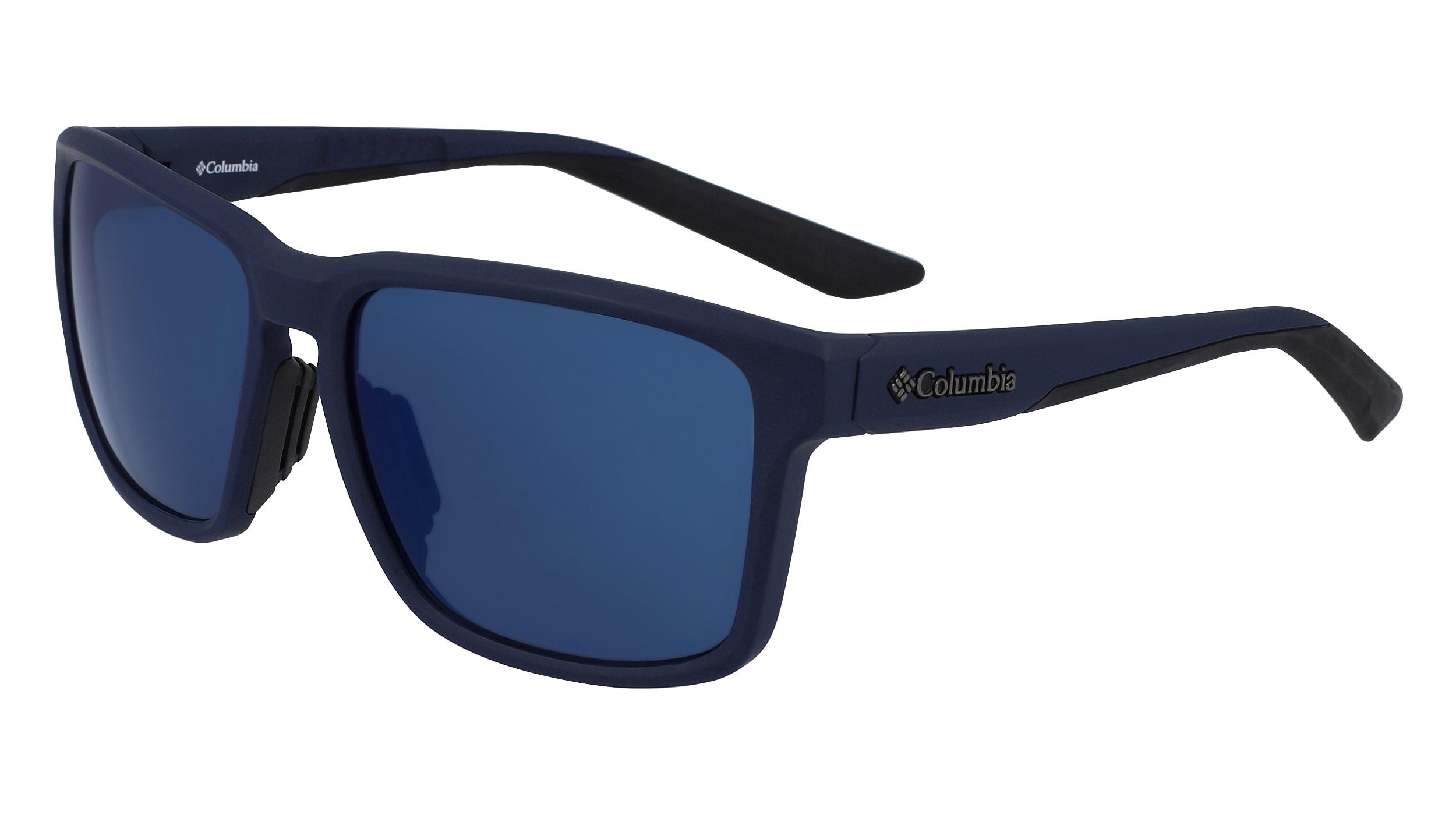 Blue Sunglasses NEW Columbia C544SM-CALPINE-MR-418-5917 Matte Collegiate navy