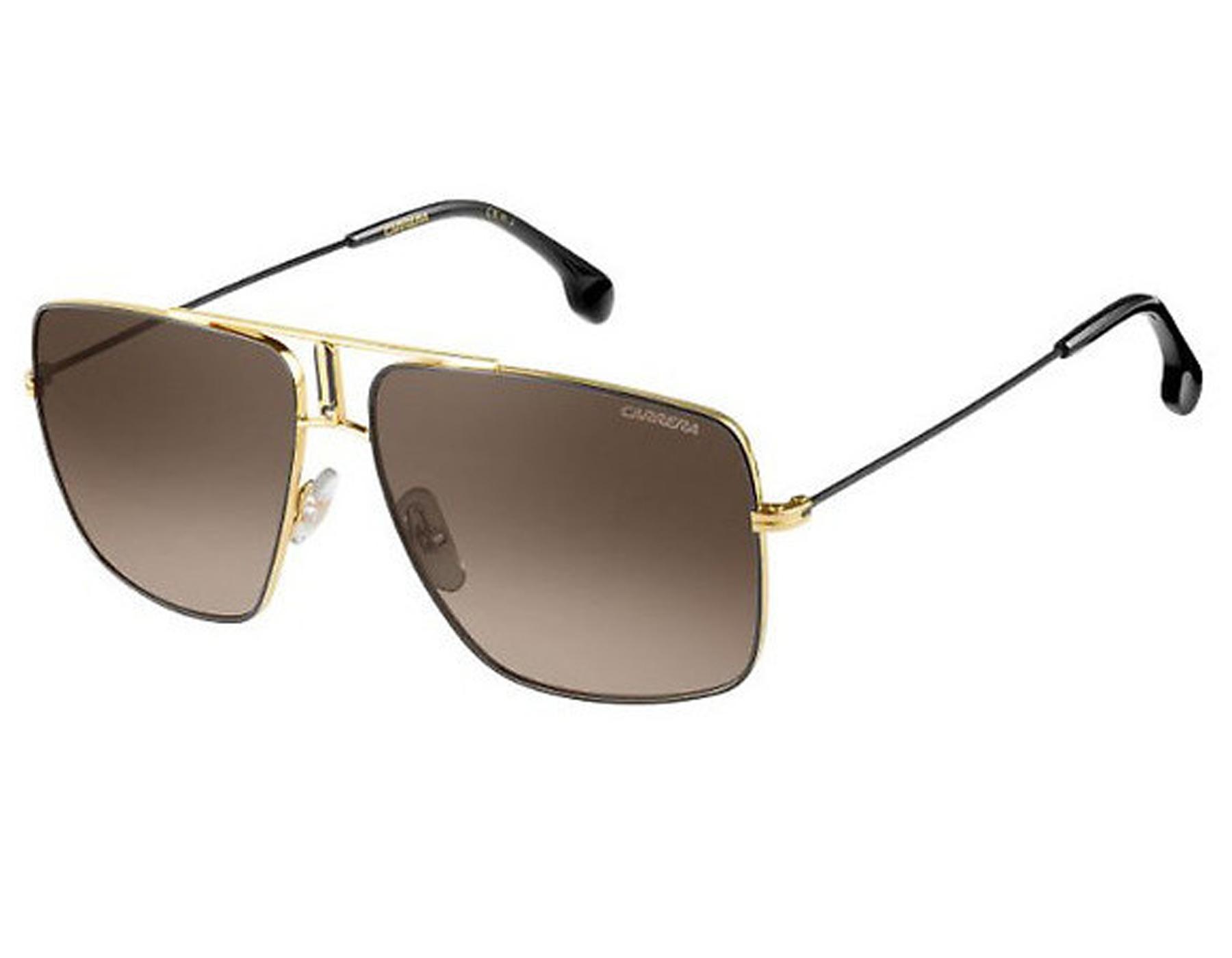 7ad12383fec795 Details about NEW Carrera CA1006 2M2 HA Black Gold   Brown Gradient  Sunglasses