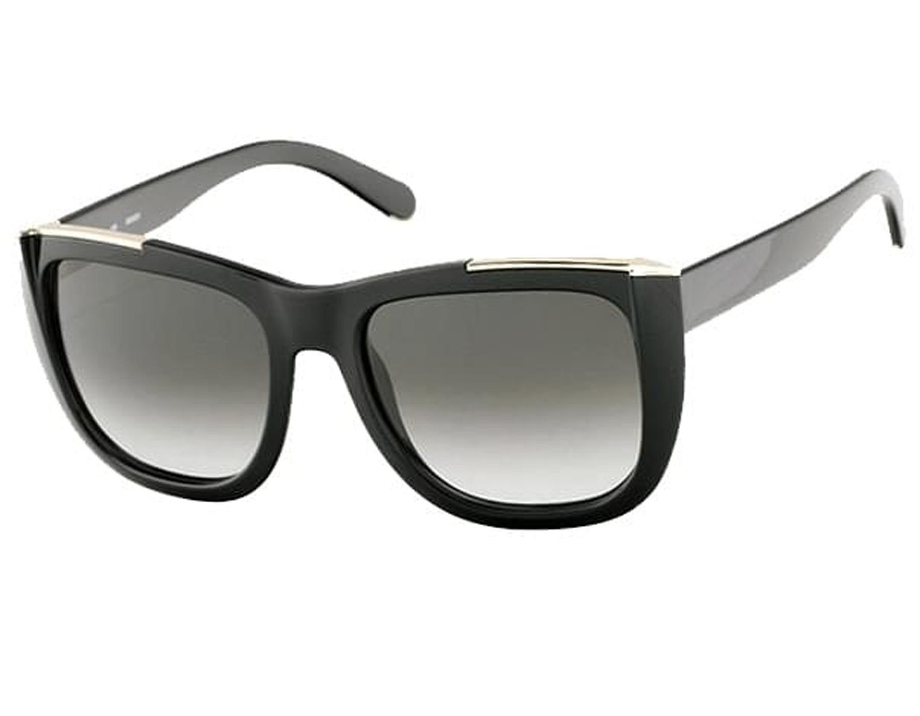 0b90e4c643e NEW Chloe CE659S 001 Black   Grey Gradient Sunglasses