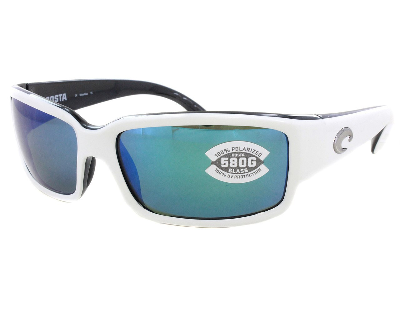 9c6e7afb88de Details about New Costa del Mar Caballito Blue Mirror CL30-OBMGLP580  Sunglasses