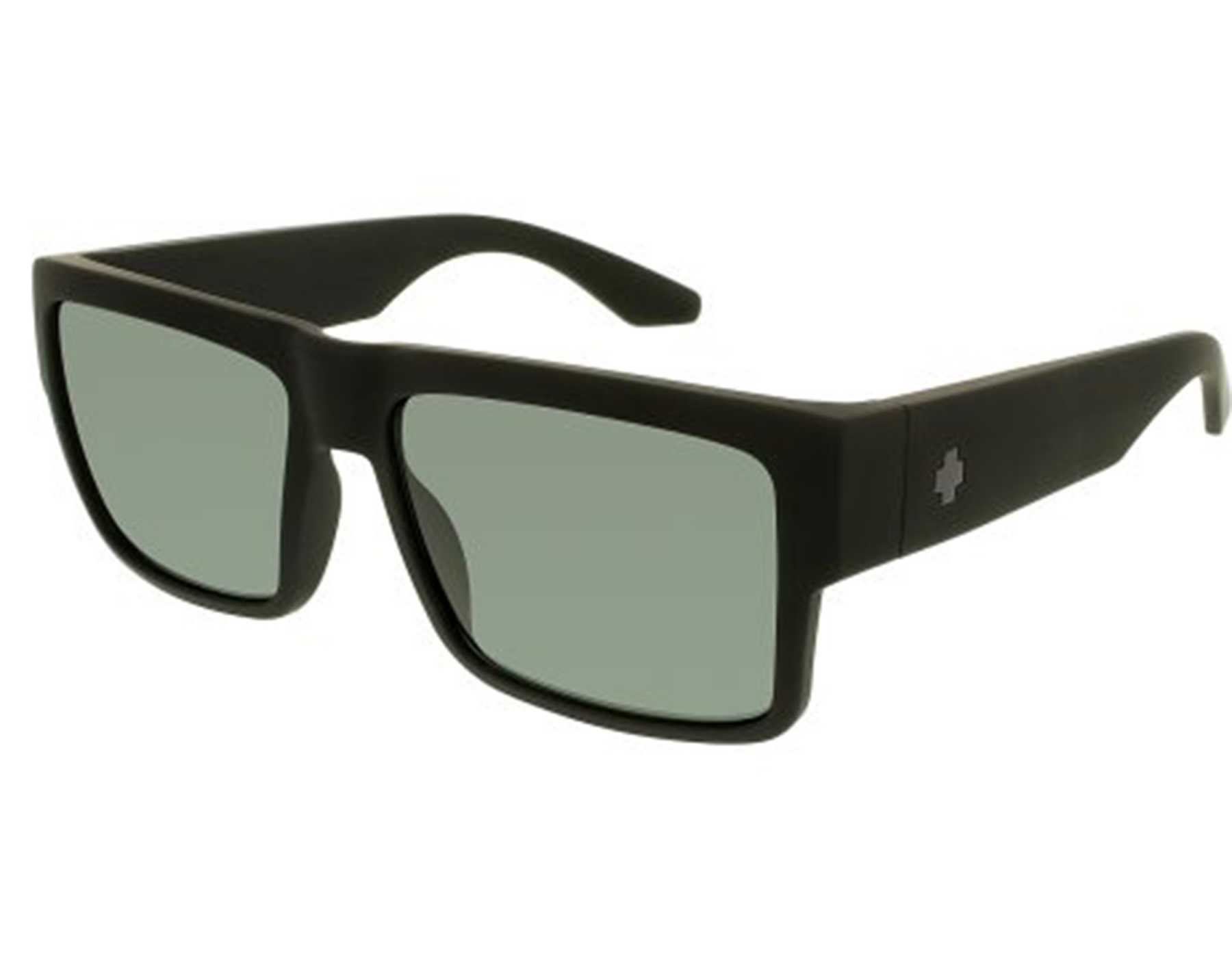 2d5ecc57df Details about New Spy CYRUS-673180973864 Matte Black   Happy Gray Green  Polarized Sunglasses