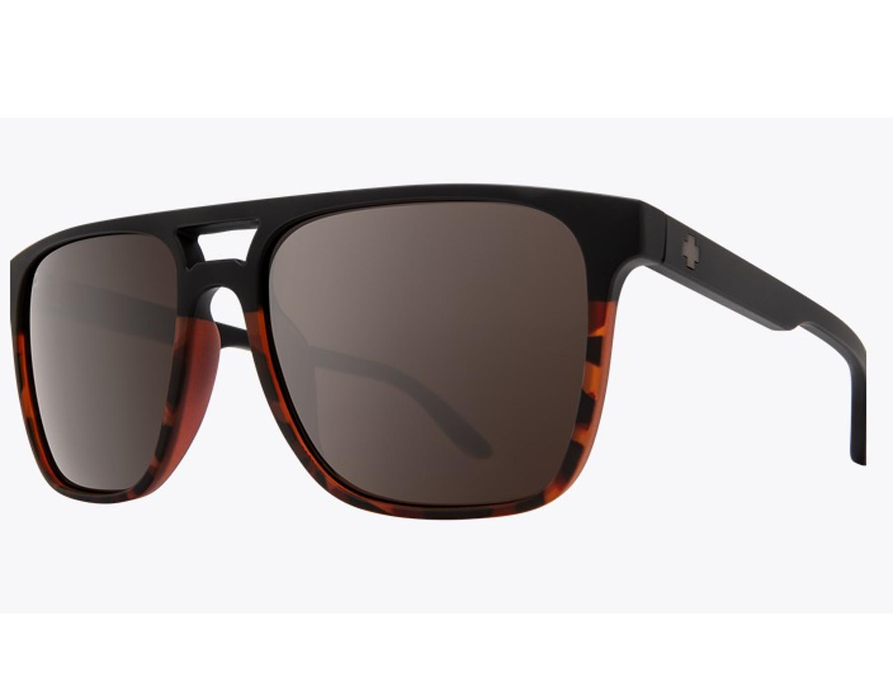 9c04a8be114 Details about New Spy CZAR-673526200789 Matte Black Tortoise Fade   Bronze  Sunglasses