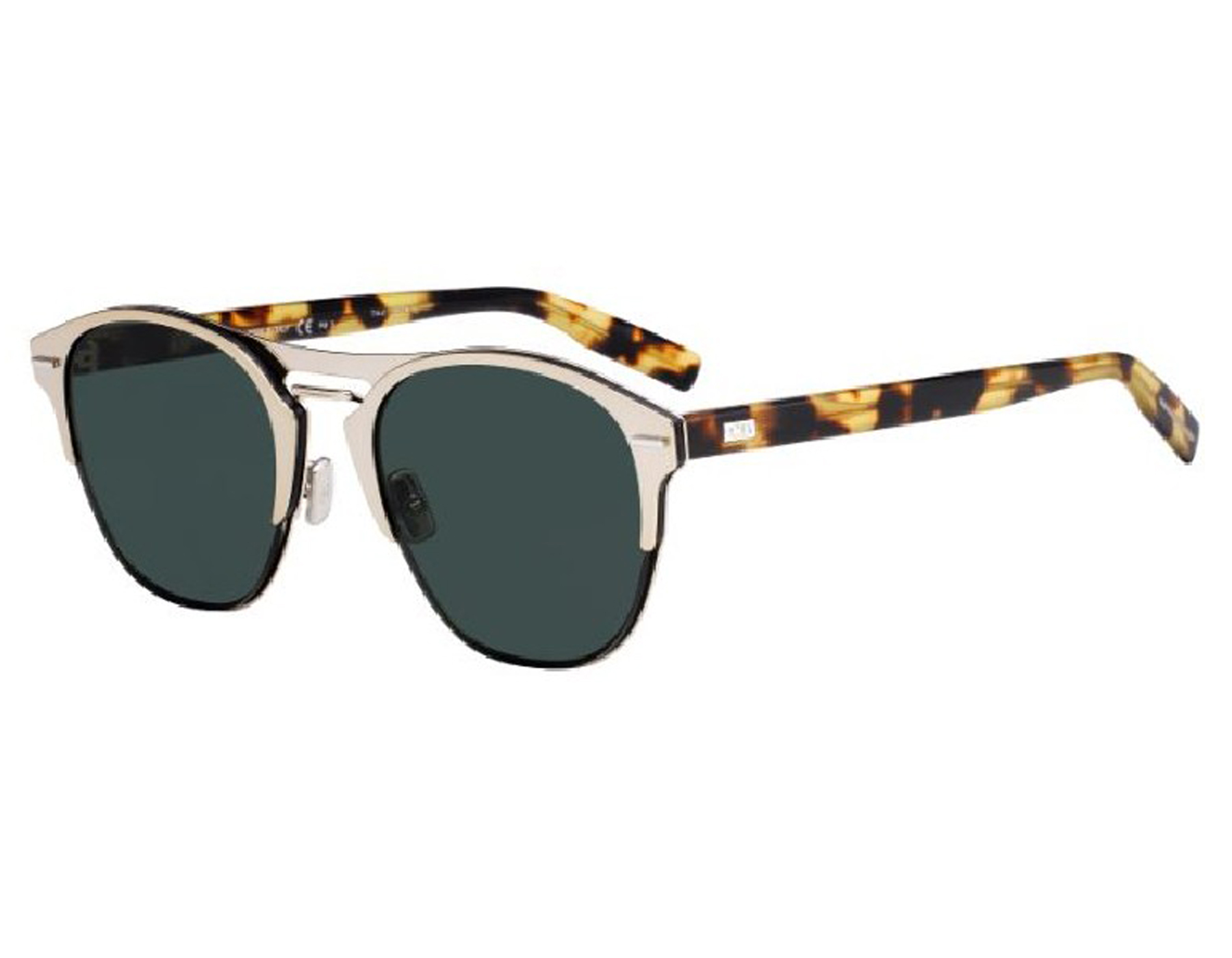 fc4a512ca2d6 Details about NEW Christian Dior Chrono 3YG O7 Light Gold   Green SF  Sunglasses