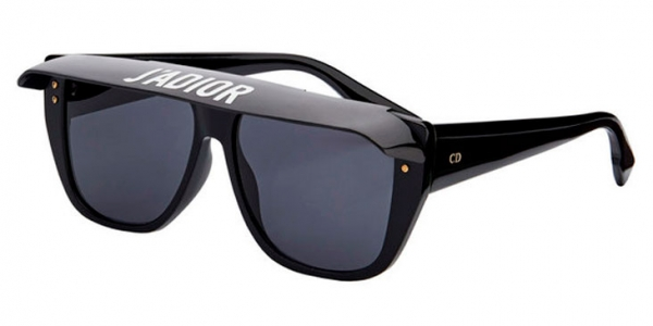 9ffe7e2615 NEW Christian Dior CLUB 2 807IR Black   Grey Sunglasses 716736076188 ...