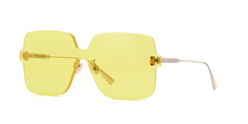 db1adcc365 Details about NEW Christian Dior COLORQUAKE 1 40G HO Yellow Mirror  Sunglasses