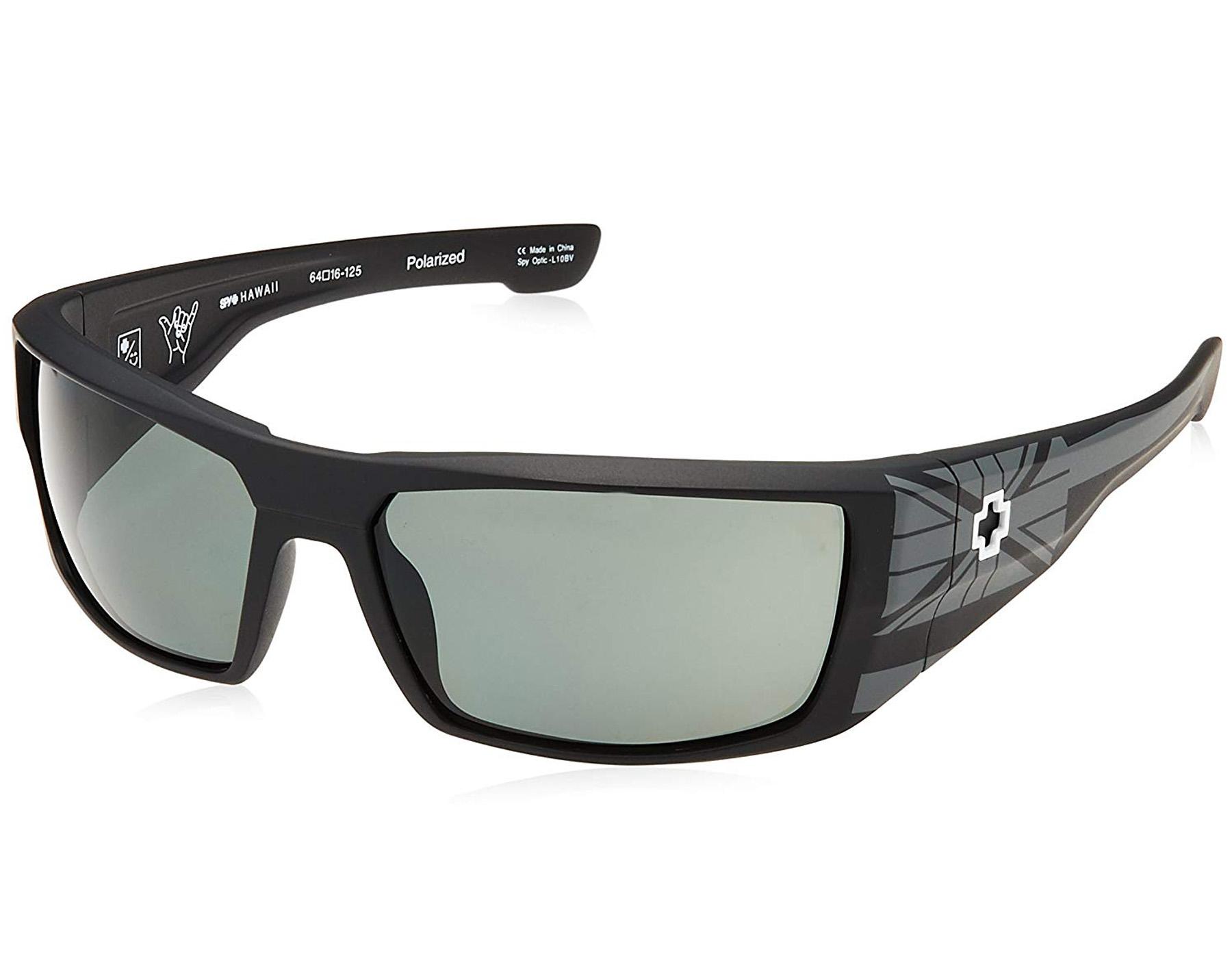 8f132172ebe75 Details about NEW Spy Optics Dirk Hawaii   Happy Grey Green Polarized  182052782864 Sunglasses
