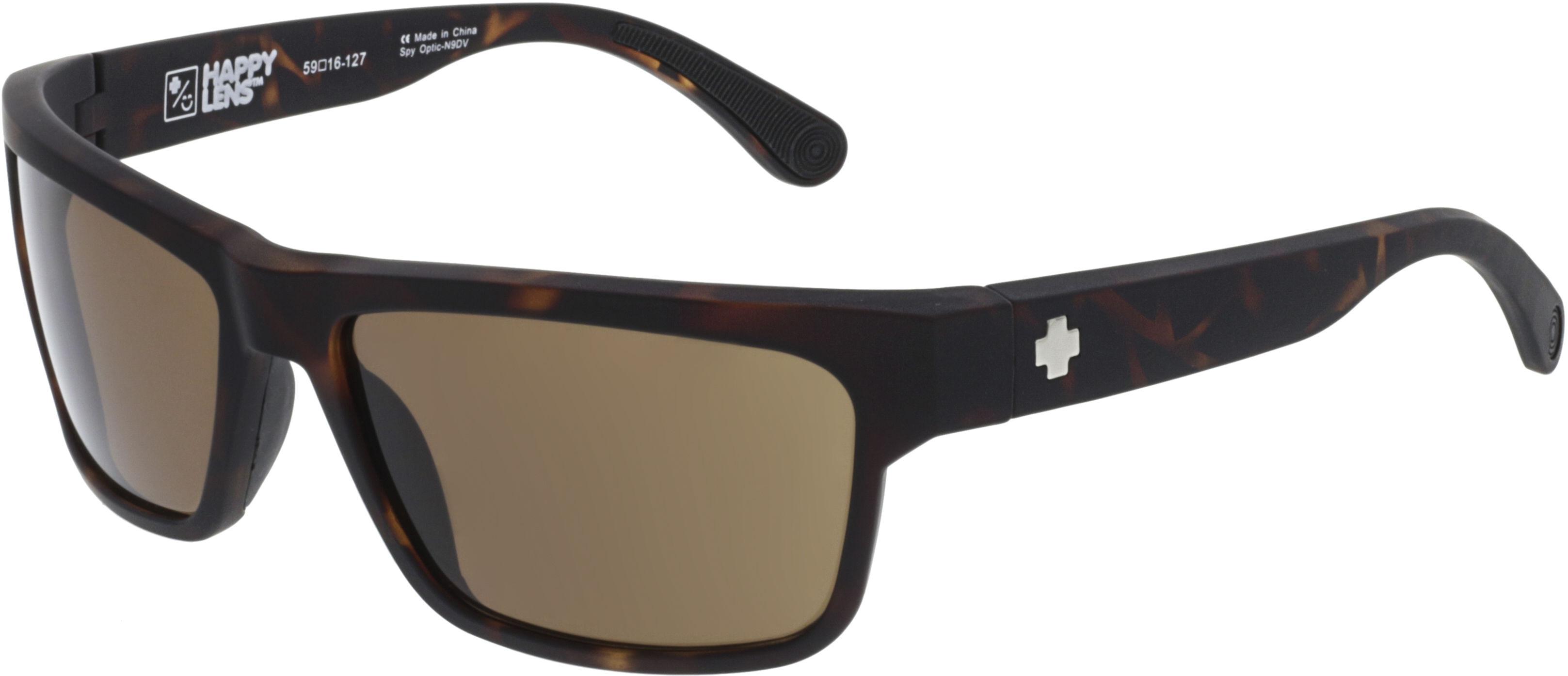 24597e666dcc8 Details about New Spy FRAZIER-673176995865 Matte Camo Tortoise   Bronze  Sunglasses