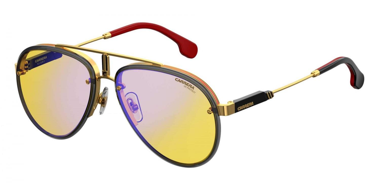 f4fcd4bf68 NEW Carrera GLORY-0DYGHW Yellow Gold Red Sunglasses 716736049465 | eBay