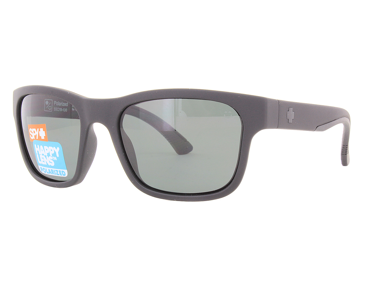 deb3189be0a70 Details about New Spy HUNT-673469374864 Matte Black   Happy Grey Green  Sunglasses