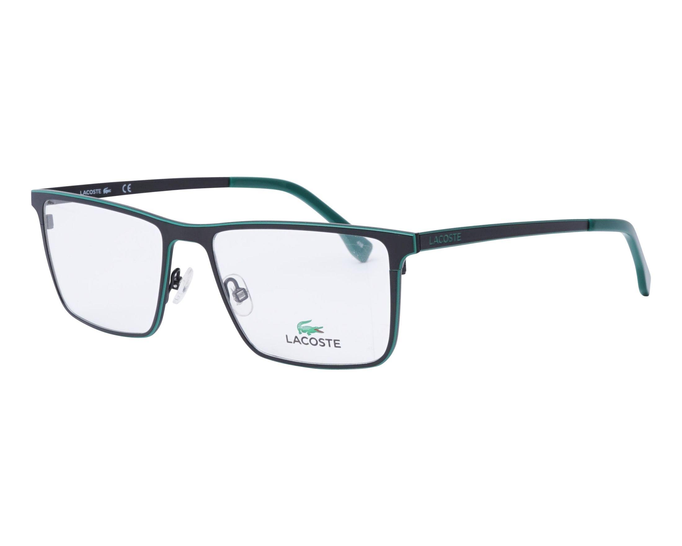 e960cea1f058 NEW Lacoste L2232-001-5417 Matte Black 54mm Eyeglasses 886895298094 ...
