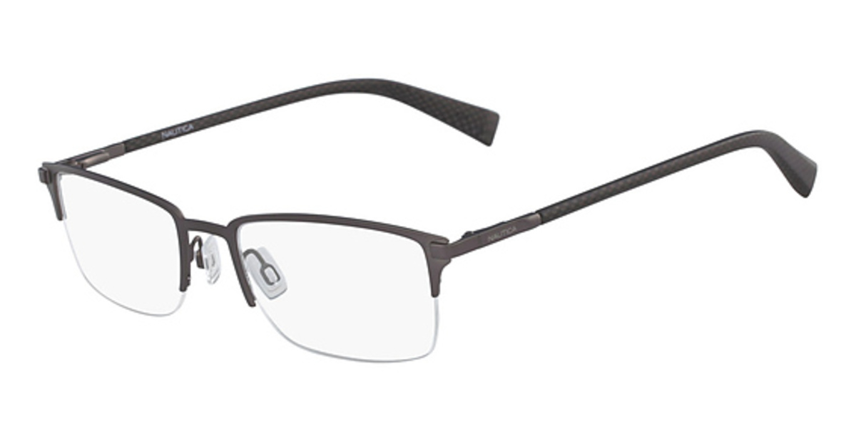 11c4b7f559 NEW Nautica N7281-030-5620 Gunmetal 56mm Eyeglasses 688940457438