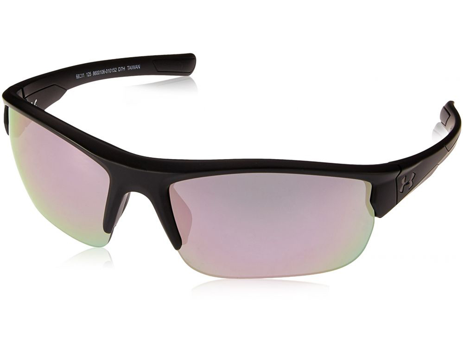 85048b65c442 Details about NEW Under Armour Propel Satin Black / Black Pink 8600106  010152 Sunglasses