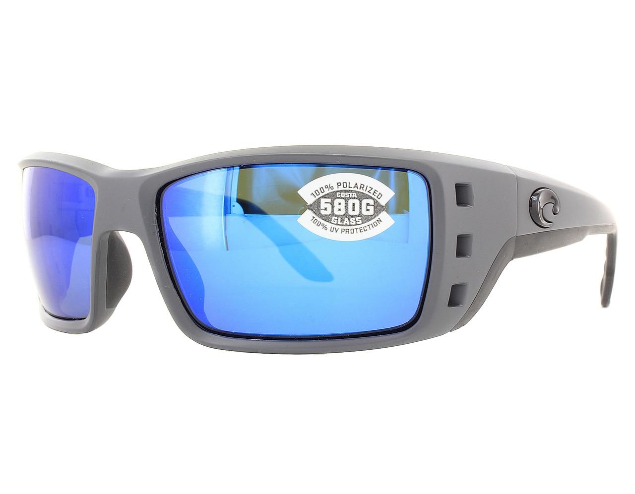 4d1650978e03f Details about New Costa del Mar Permit Blue Mirror PT98-OBMGLP580G  Sunglasses