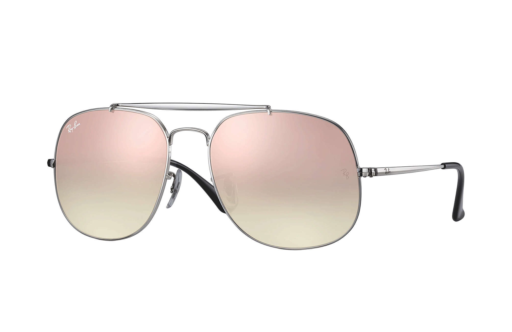 Details about New Ray Ban RB3561-003 7O-5717 Silver   Copper Gradient Flash  57mm Sunglasses 33e8ebaa36