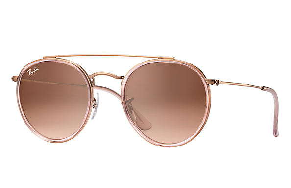 b37009633 Details about New Ray Ban RB3647N-9069A5-51 Pink / Pink Gradient Brown 51mm  Sunglasses