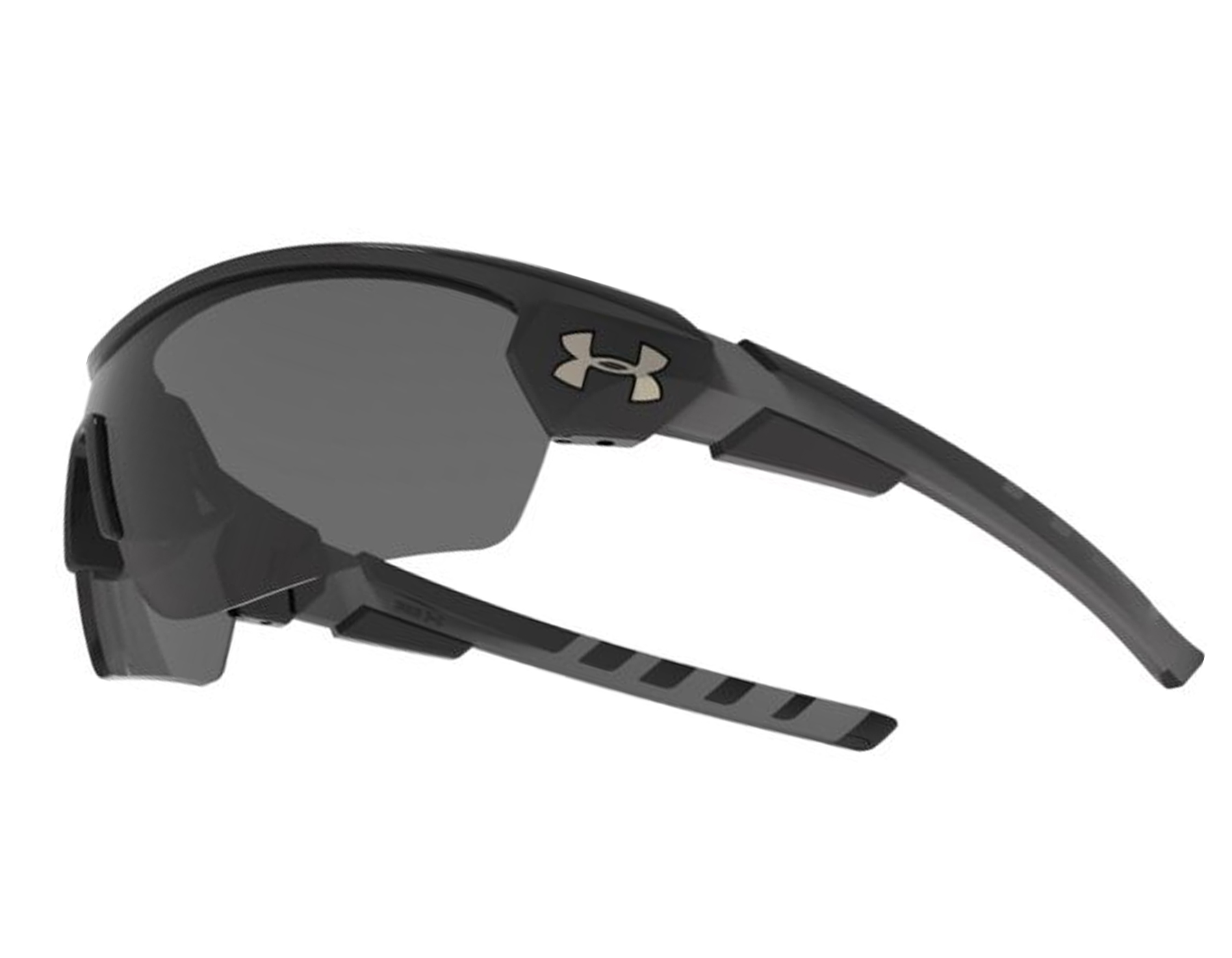 3eeb39565a5c Details about NEW Under Armour Rival Satin Black / Gray 8613090 010100  Sunglasses