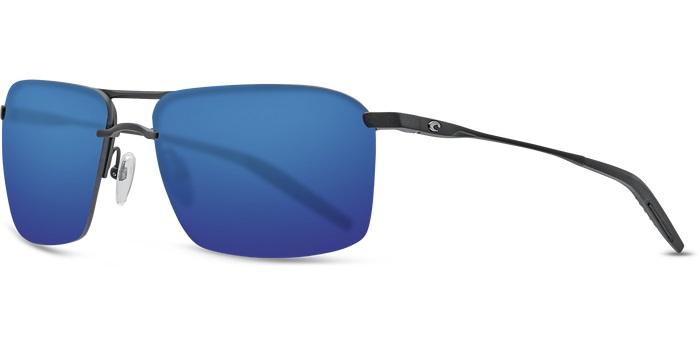 3305d9385fb1 Details about New Costa del Mar Skimmer Blue Mirror SKM11-OBMP-580P  Sunglasses