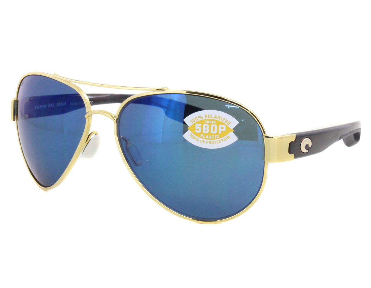 6c6b7039c Details about New Costa del Mar South Point Blue Mirror SO26-OBMP580P  Sunglasses