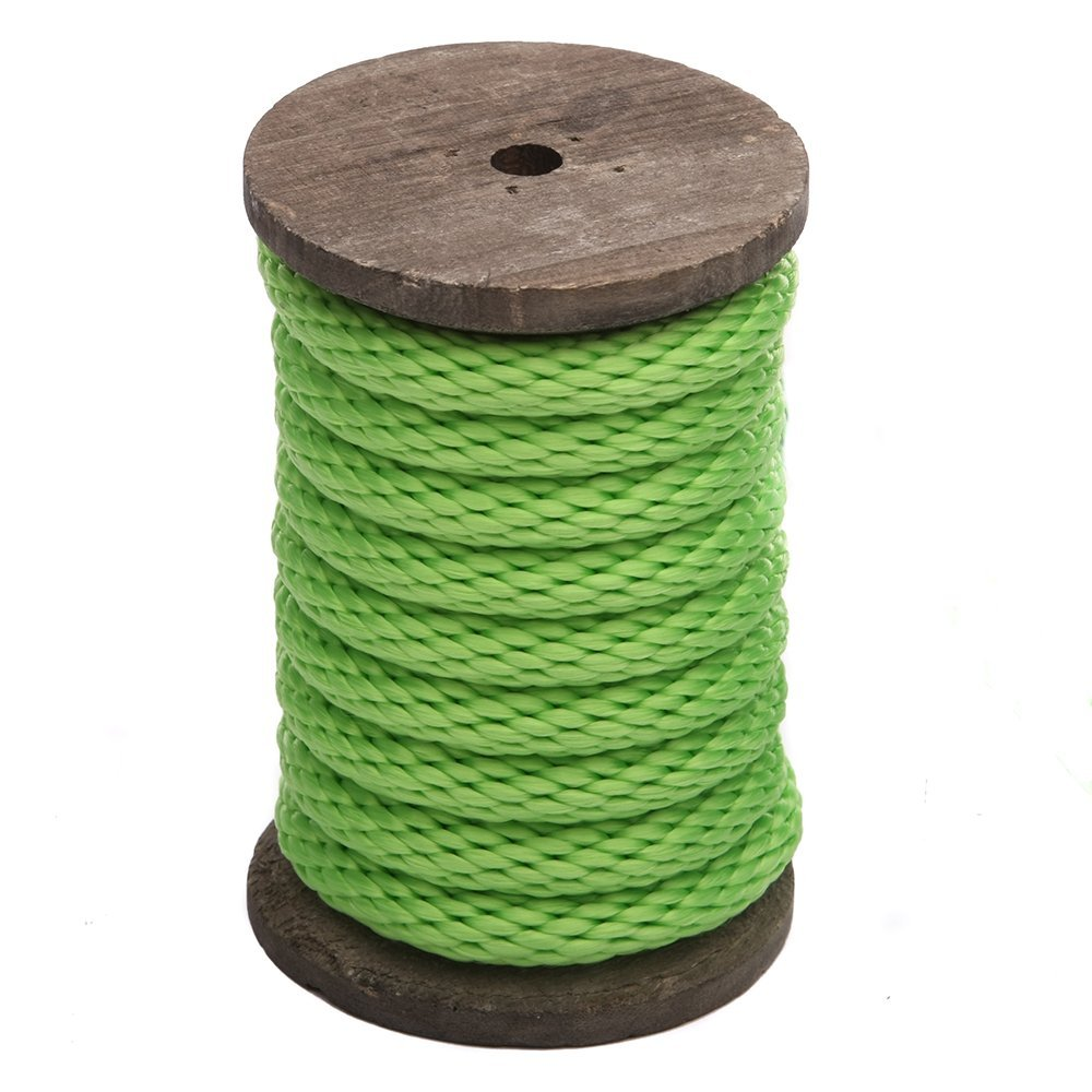 All Purpose Solid Braid MFP Derby Cord for Crafts Ravenox Solid Braid Utility Rope Sports Pets /& D/écor Horse Tack Made in the USA Dozens of Colors /& Diameters of Rope by the Foot Landscaping