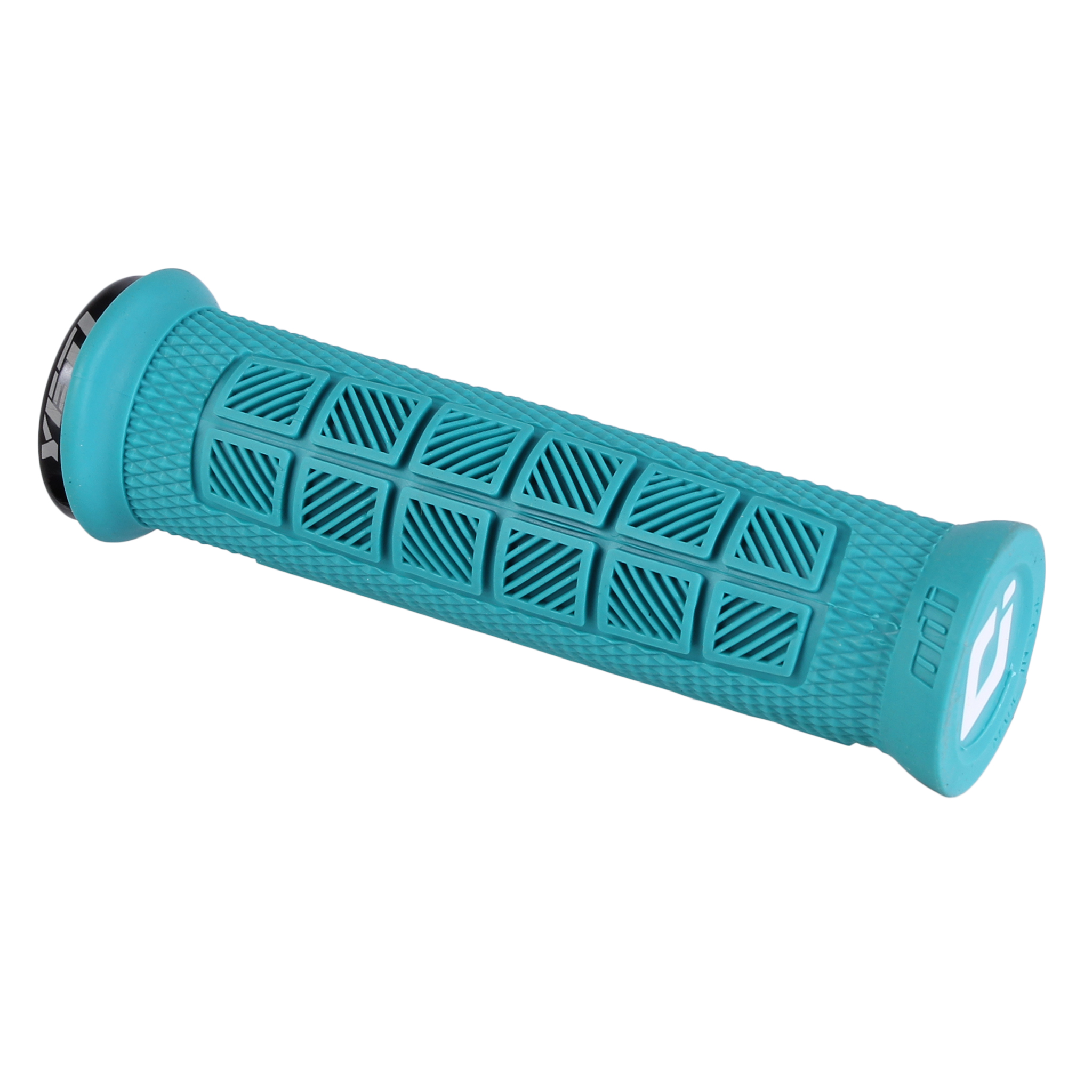 Turquoise ODI Lock-On MTB Bonus Pack Elite Pro