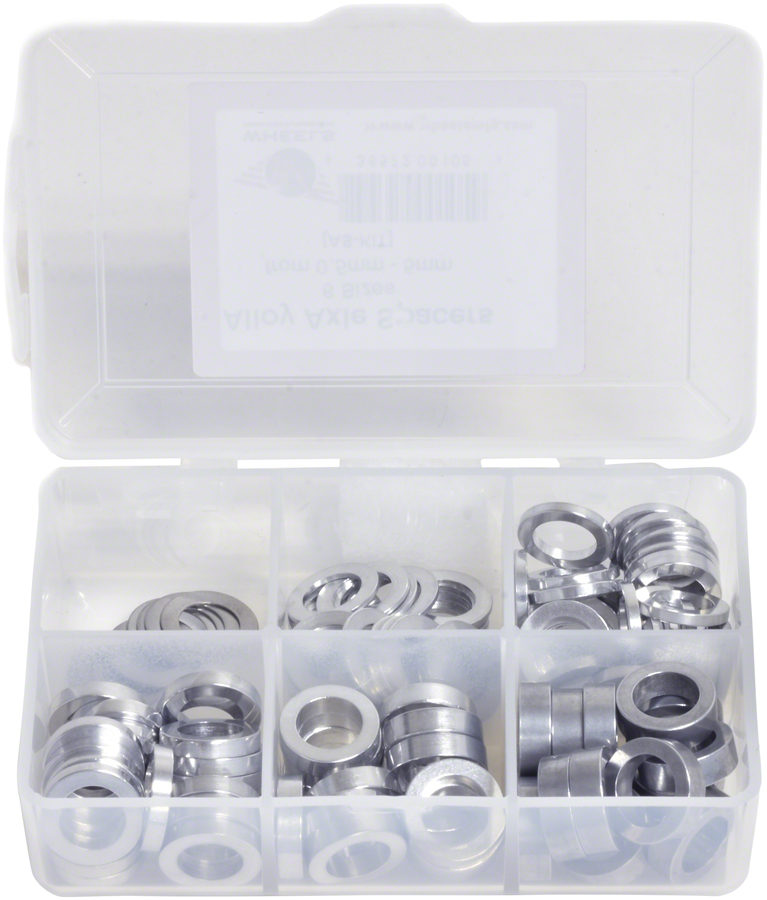 NEW Wheels Manufacturing Kit of six assorted sizes .5 to 5mm