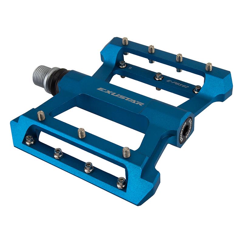 Exustar PB562 BMX Pedals 916` LSL blu Alloy