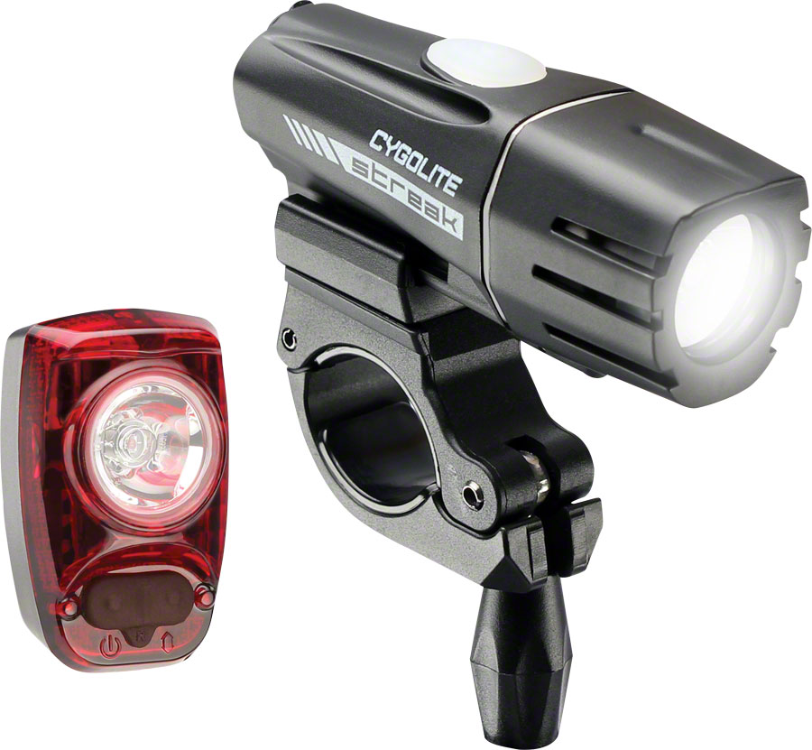 NEW Cygolite Streak 450 Headlight and Hotshot SL 50 Taillight Set