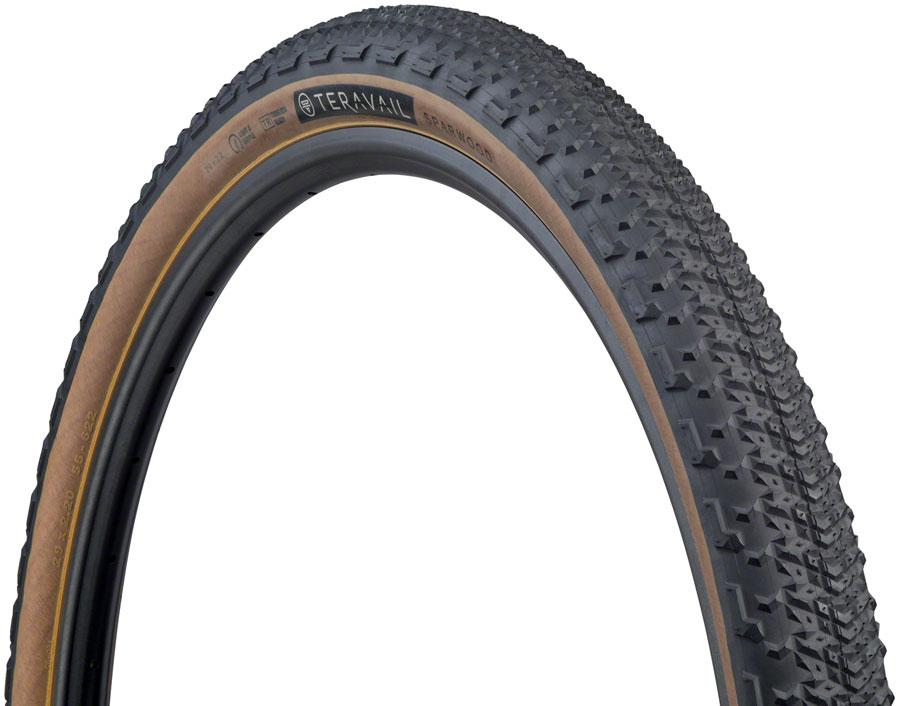 29 x 2.8 Tubeless Folding Tan Light and Supple Teravail Coronado Tire