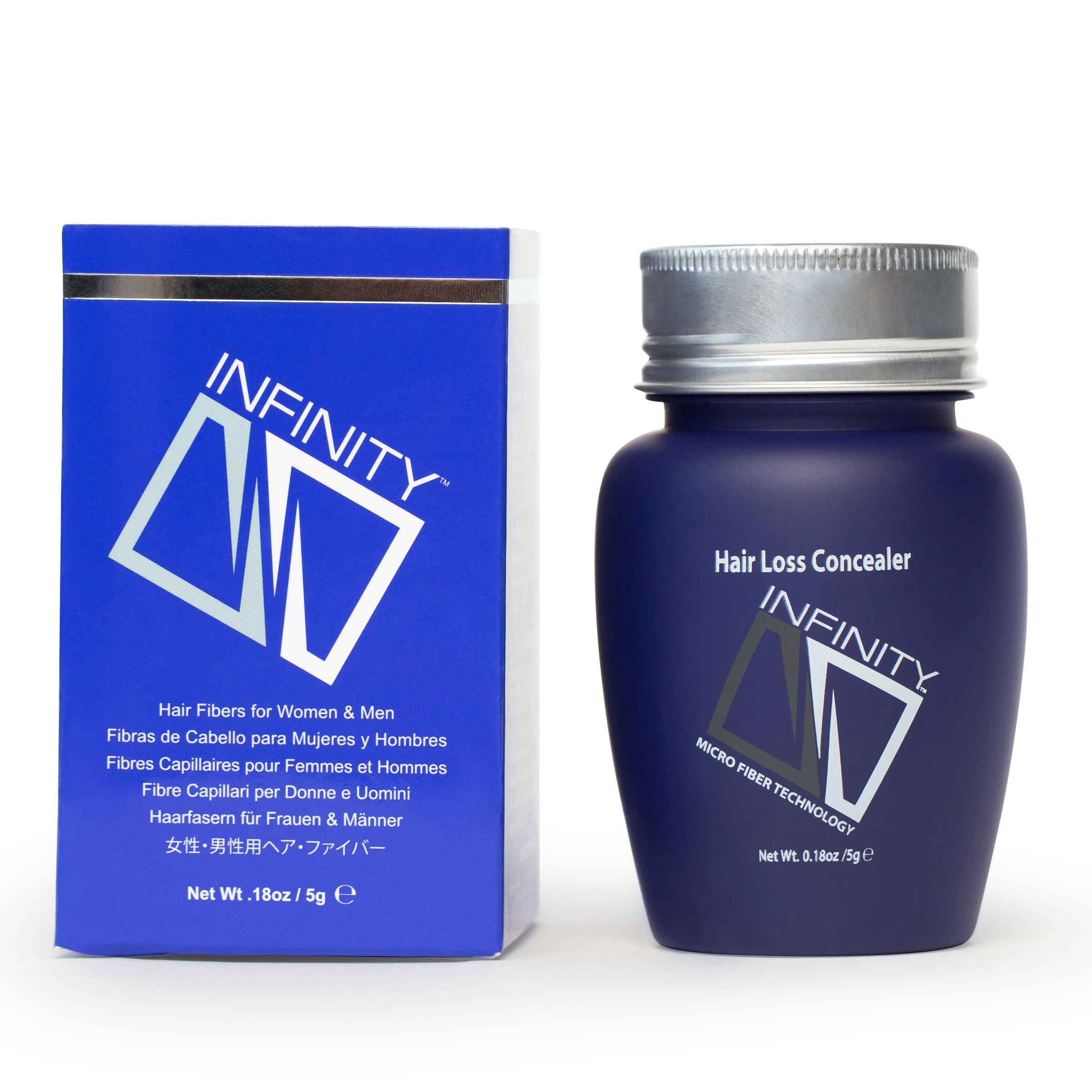 Infinity Hair Fibers For Women & Men - 5g TRIAL SIZE