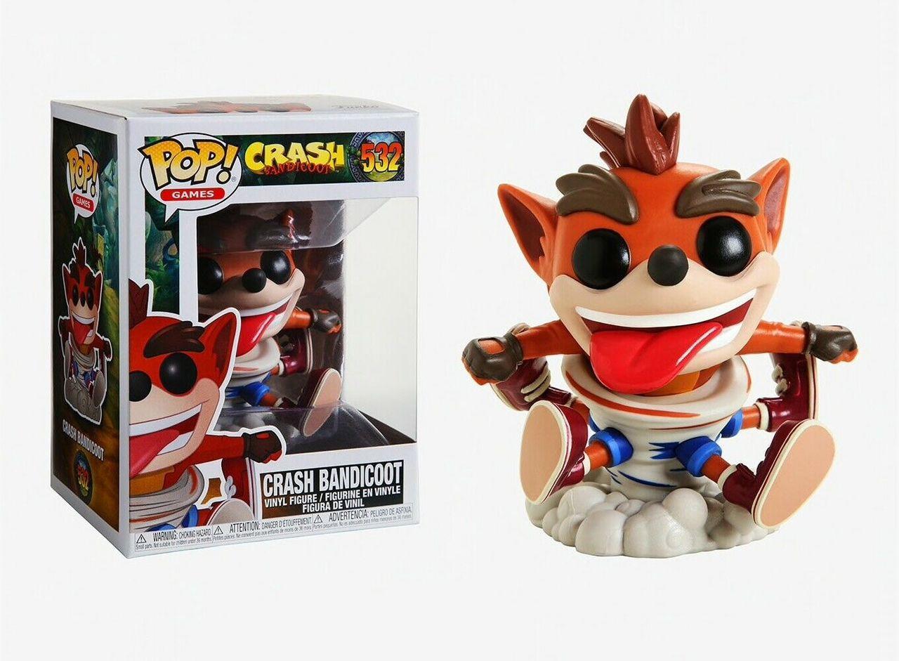 Crash Bandicoot Crash Bandicoot 532 Funko Pop