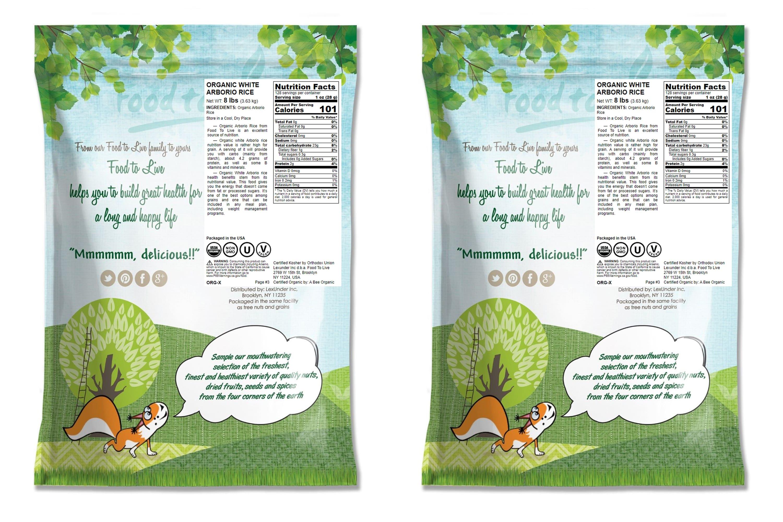 RISO-biologico-Bianco-Arborio-Non-GMO-Kosher-BULK-da-parte-del-cibo-a-vivere miniatura 19