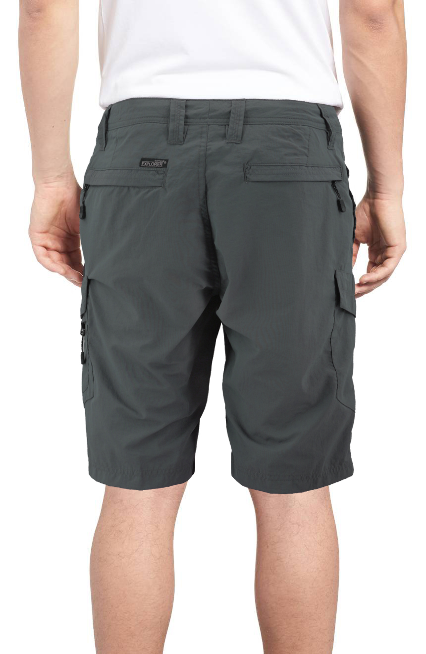Burnside-Men-039-s-Quick-Dry-Cargo-Swim-Board-Shorts-Beach-Slim-Fit-Surf-Trunks miniature 4