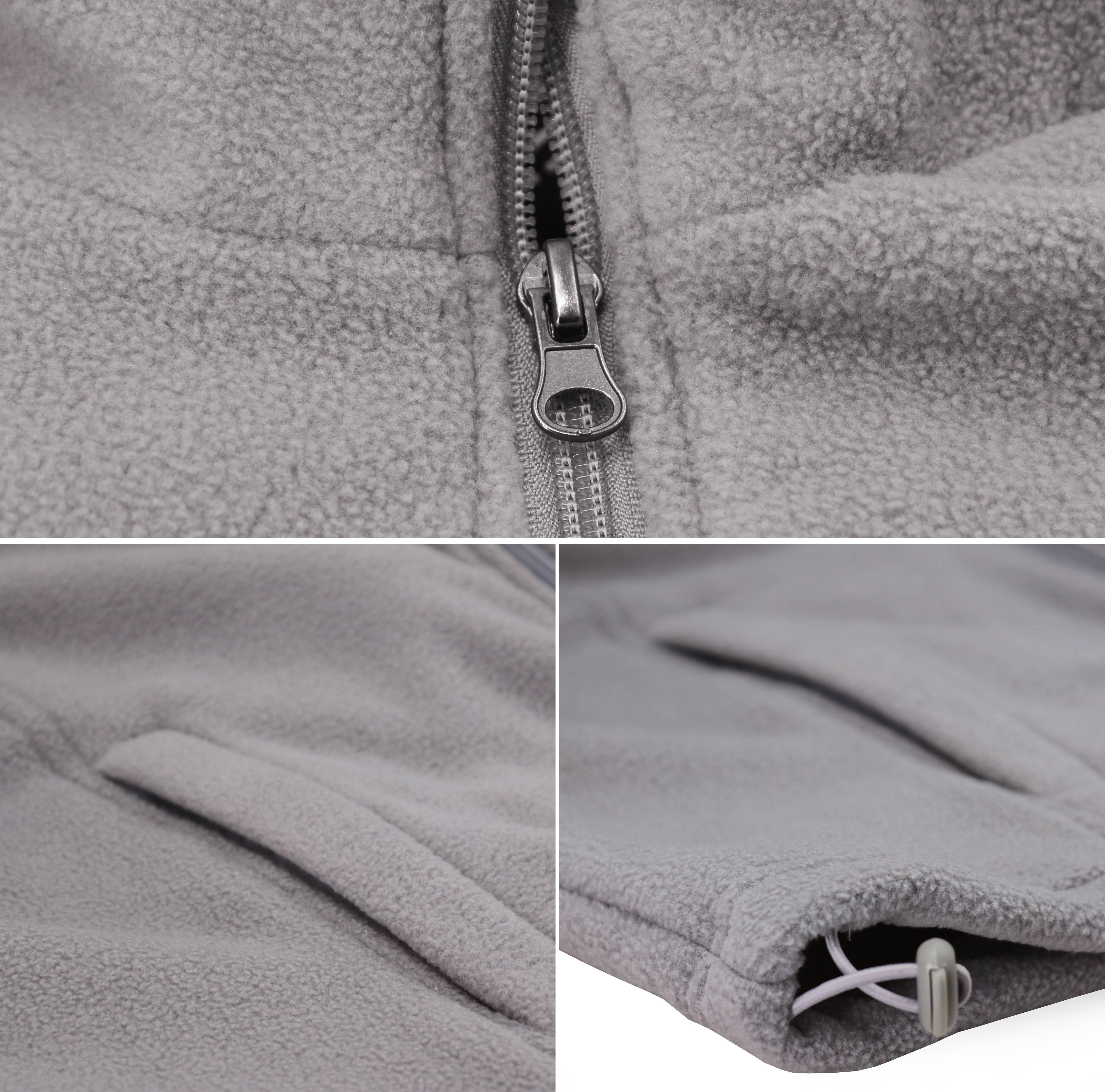 miniature 4 - Men-039-s-Polar-Fleece-Lightweight-Warm-Jacket-Collared-Full-Zip-Up-Sweater-Vest