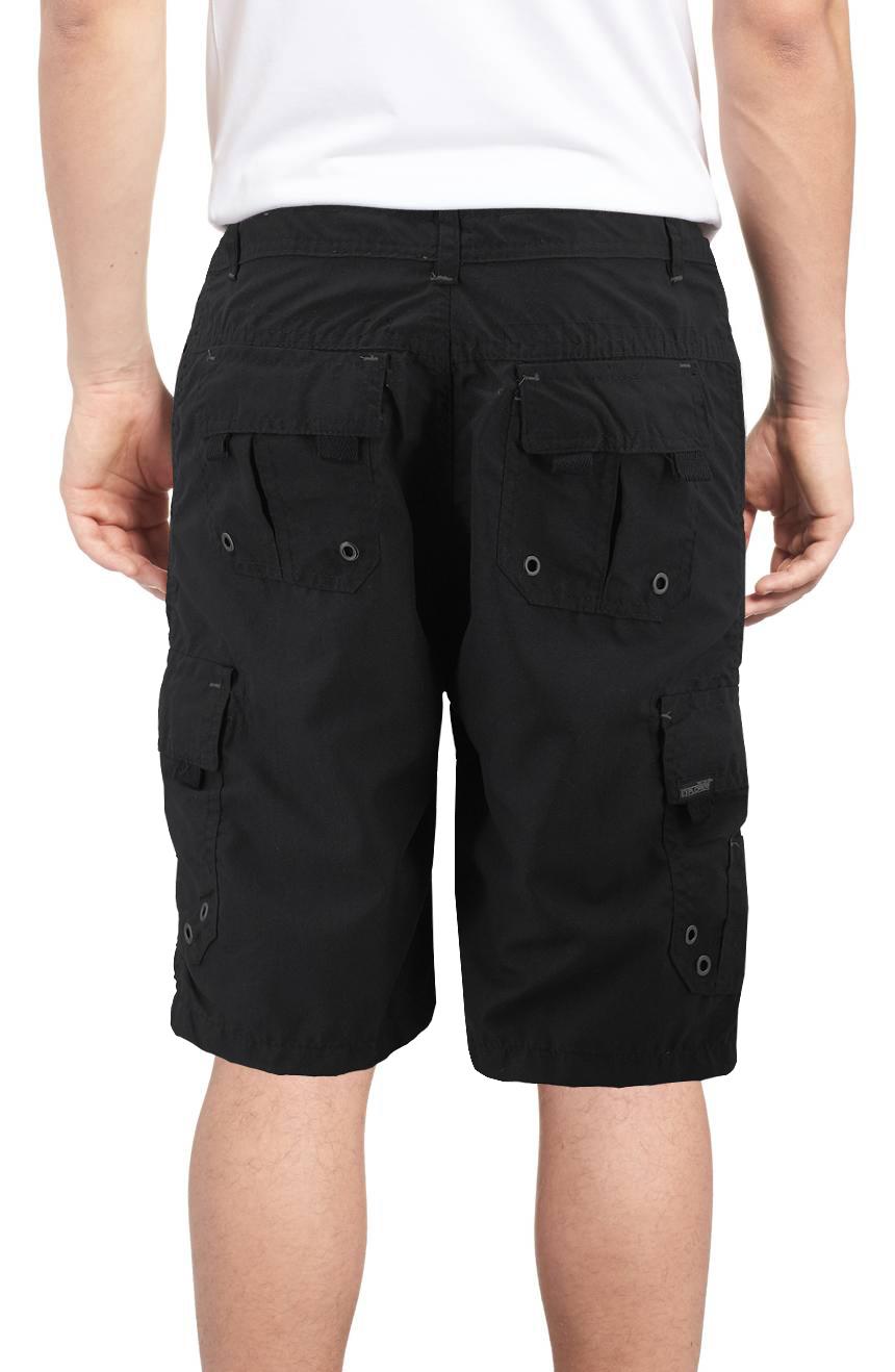 Burnside-Men-039-s-Quick-Dry-Cargo-Swim-Board-Shorts-Beach-Slim-Fit-Surf-Trunks miniature 7