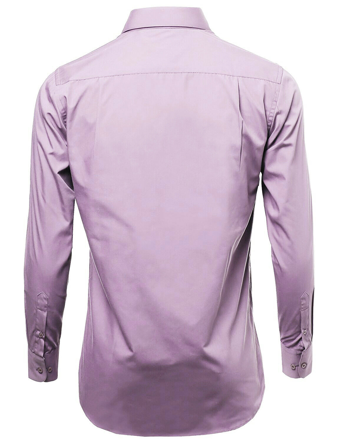 Omega-Italy-Men-039-s-Premium-Slim-Fit-Button-Up-Long-Sleeve-Solid-Color-Dress-Shirt thumbnail 79