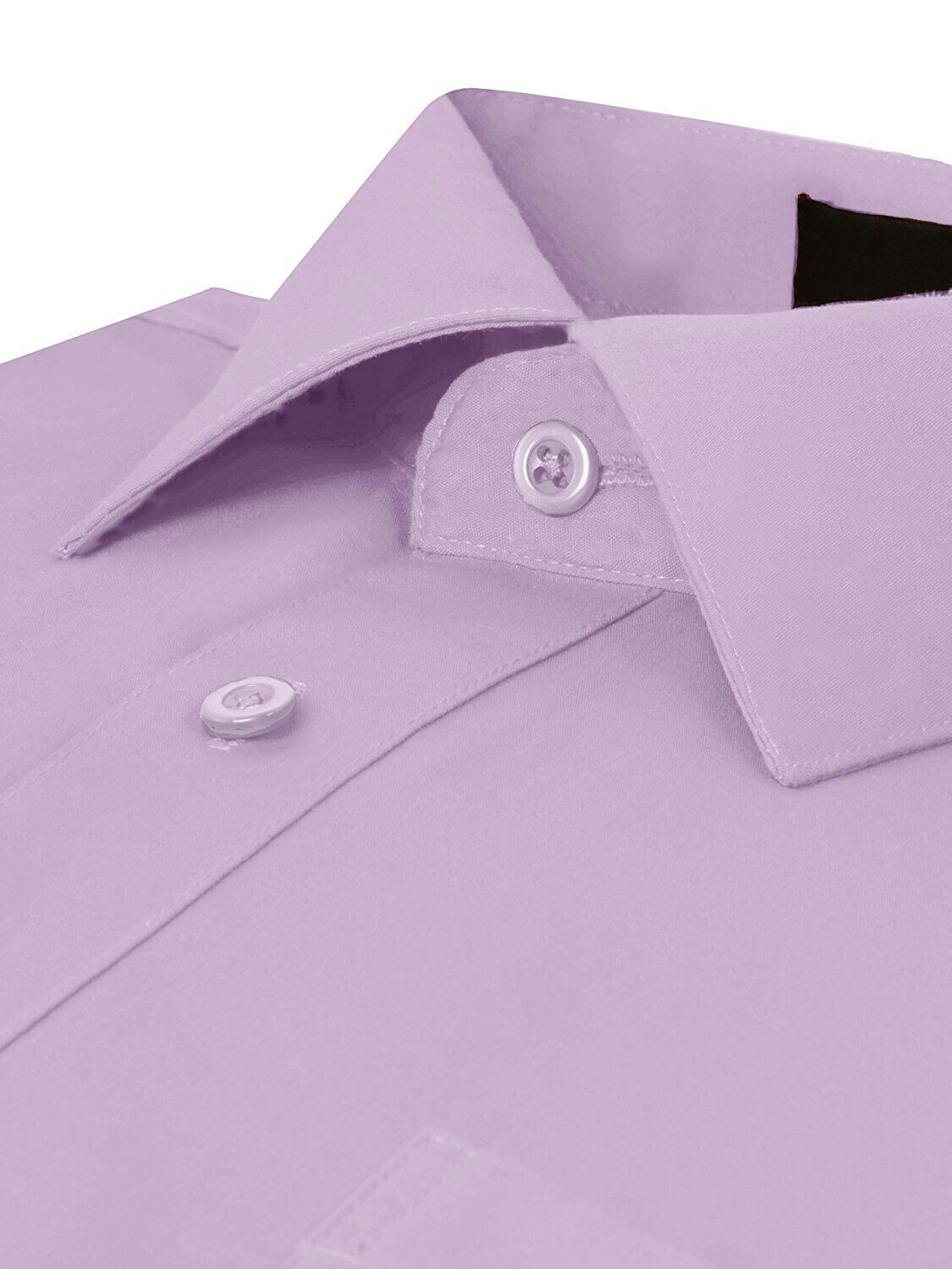 Omega-Italy-Men-039-s-Premium-Slim-Fit-Button-Up-Long-Sleeve-Solid-Color-Dress-Shirt thumbnail 50