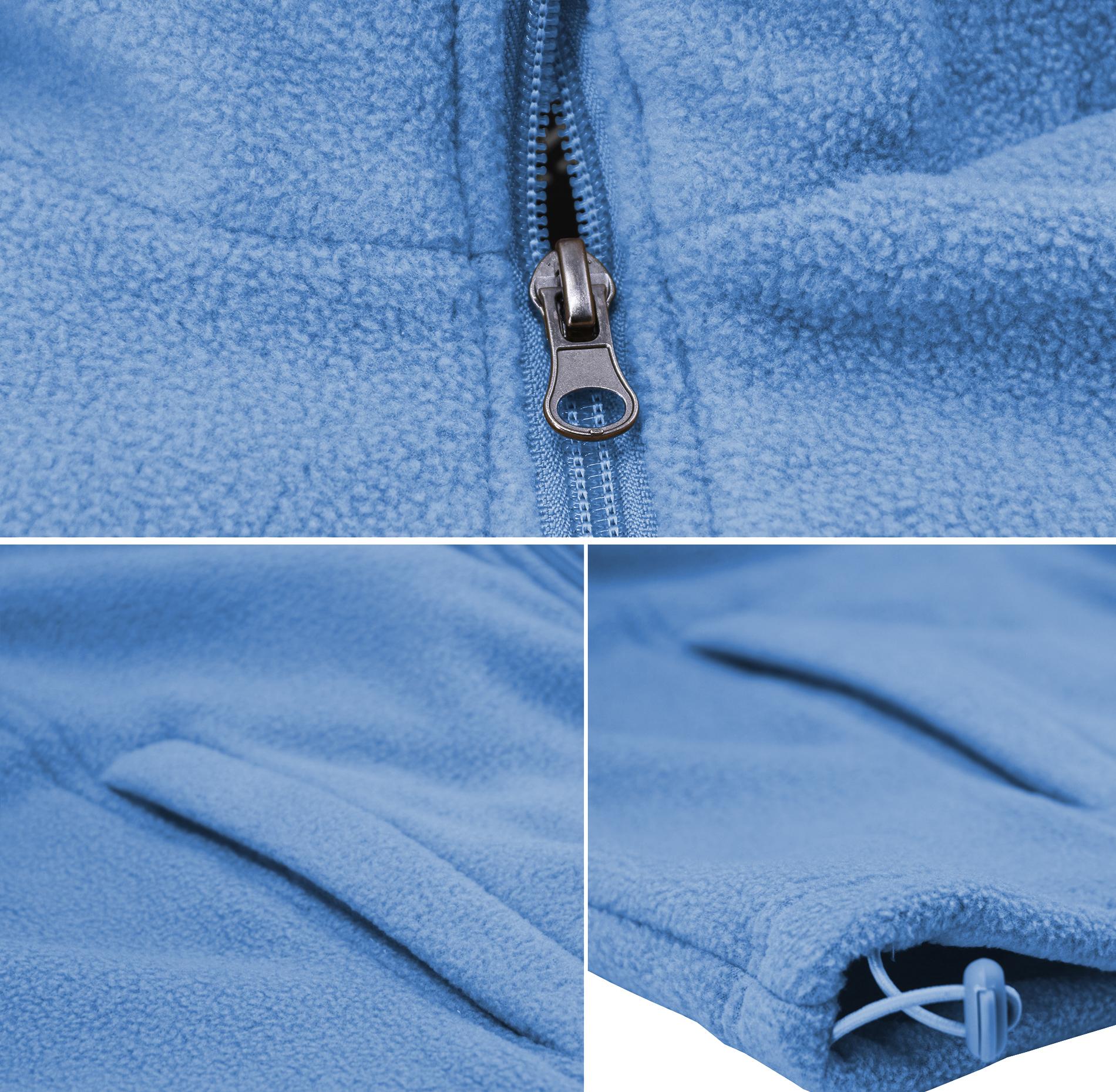 miniature 10 - Men-039-s-Polar-Fleece-Lightweight-Warm-Jacket-Collared-Full-Zip-Up-Sweater-Vest