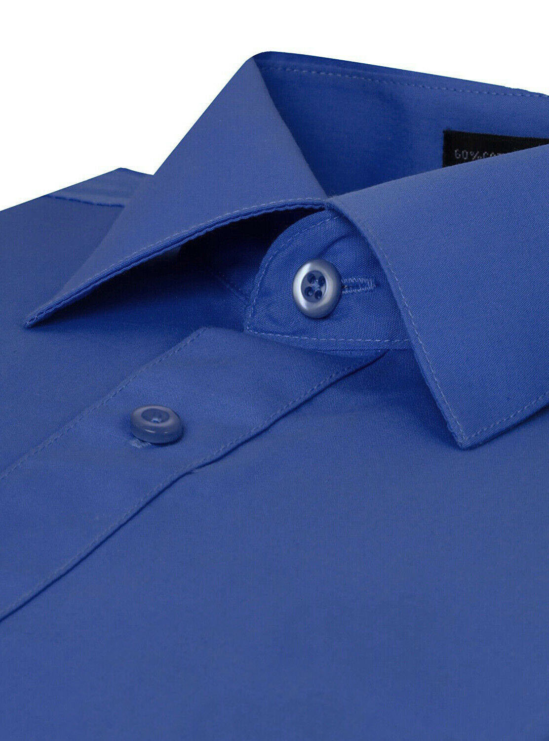 Omega-Italy-Men-039-s-Premium-Slim-Fit-Button-Up-Long-Sleeve-Solid-Color-Dress-Shirt thumbnail 60