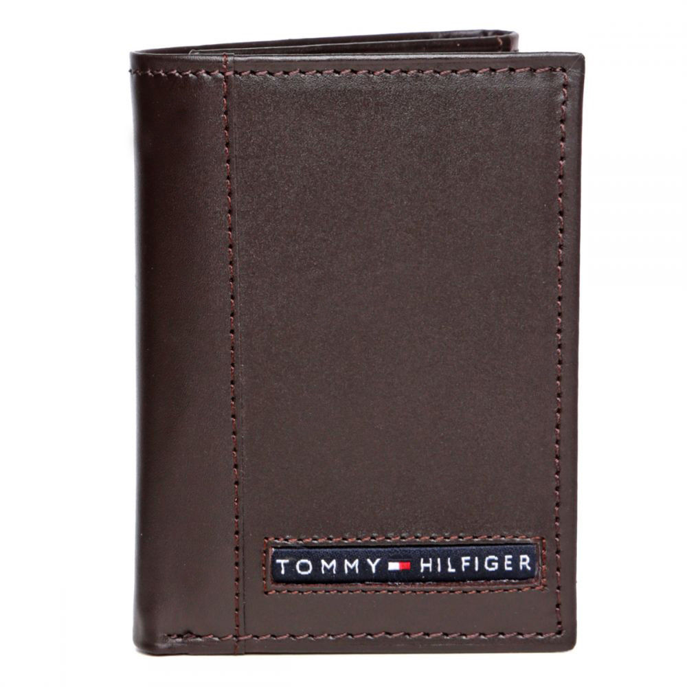 Tommy-Hilfiger-Men-039-s-Premium-Leather-Credit-Card-ID-Wallet-Trifold-31TL11X033 thumbnail 10