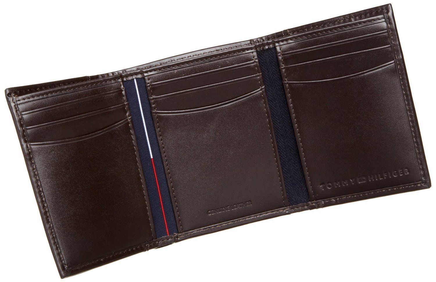 c6293bf12135e9 Tommy Hilfiger Men s Premium Leather Credit Card ID Wallet Trifold ...