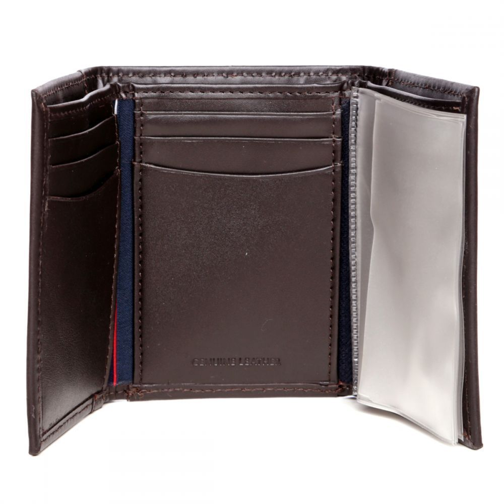 Tommy-Hilfiger-Men-039-s-Premium-Leather-Credit-Card-ID-Wallet-Trifold-31TL11X033 thumbnail 14