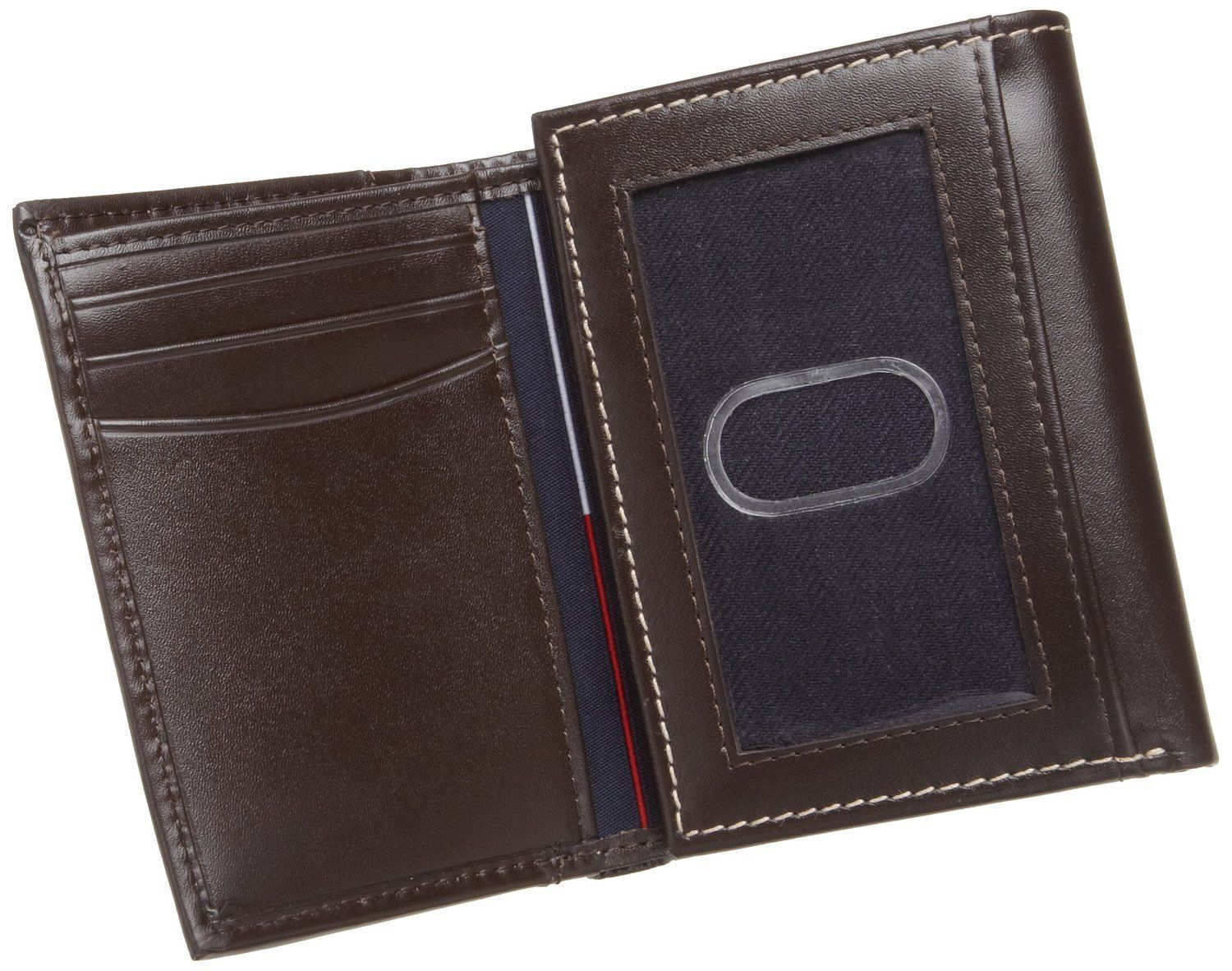 Tommy-Hilfiger-Men-039-s-Premium-Leather-Credit-Card-ID-Wallet-Trifold-31TL11X033 thumbnail 12