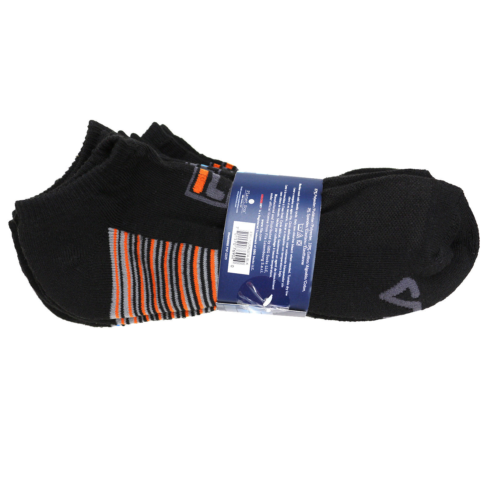FILA-Men-039-s-6-Pack-Classic-Sport-Athletic-Gym-Moisture-Control-Absorb-Dry-Socks miniature 4
