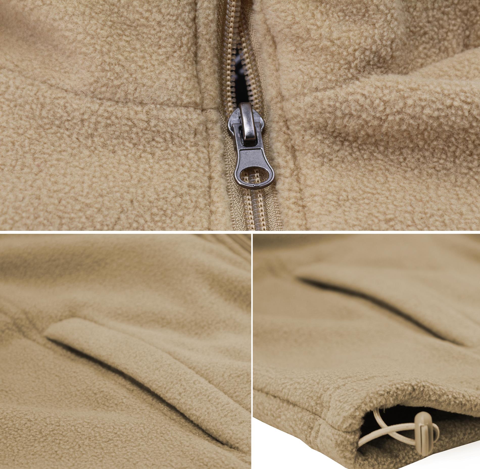 miniature 13 - Men-039-s-Polar-Fleece-Lightweight-Warm-Jacket-Collared-Full-Zip-Up-Sweater-Vest