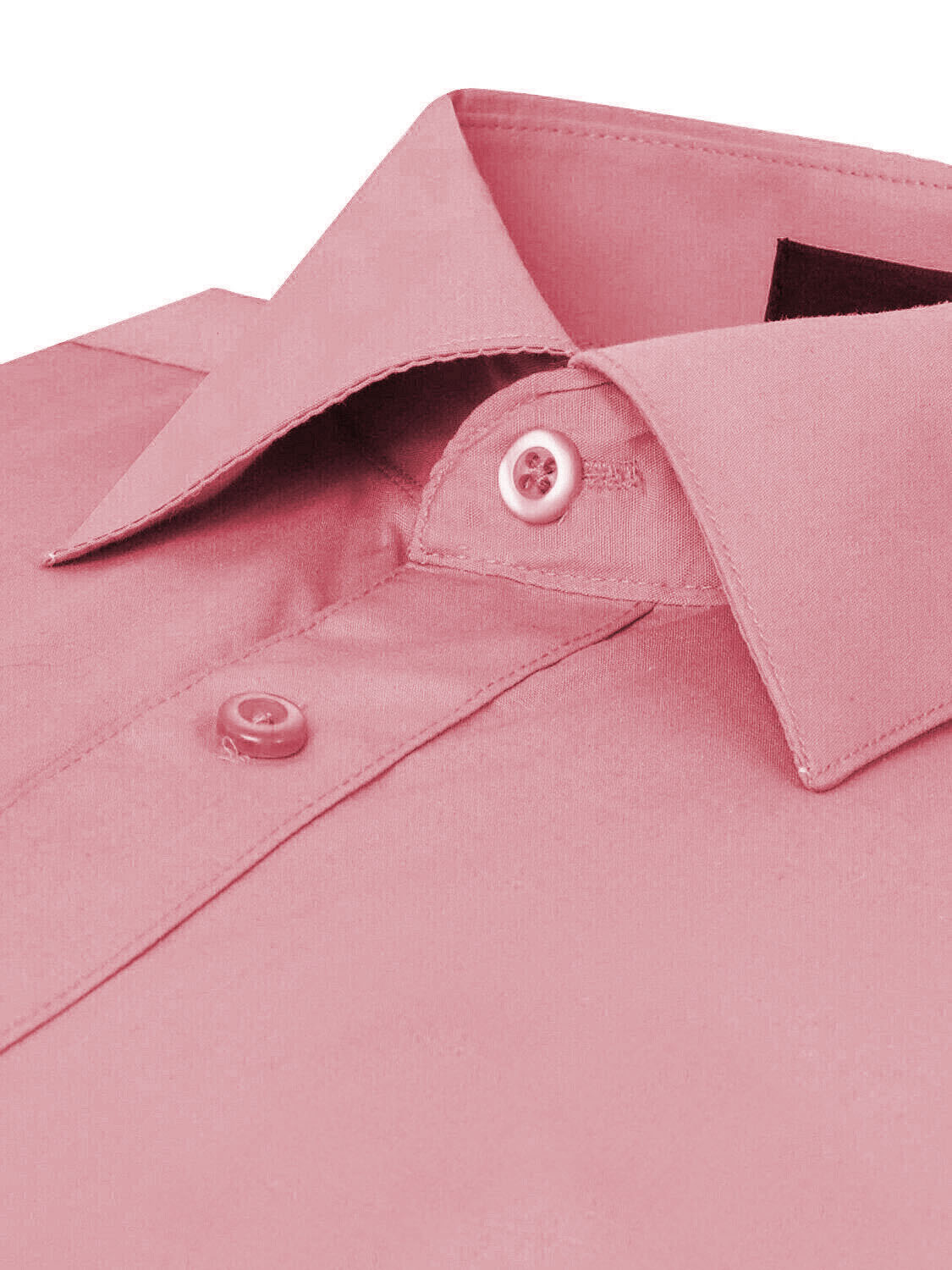 Omega-Italy-Men-039-s-Premium-Slim-Fit-Button-Up-Long-Sleeve-Solid-Color-Dress-Shirt thumbnail 100