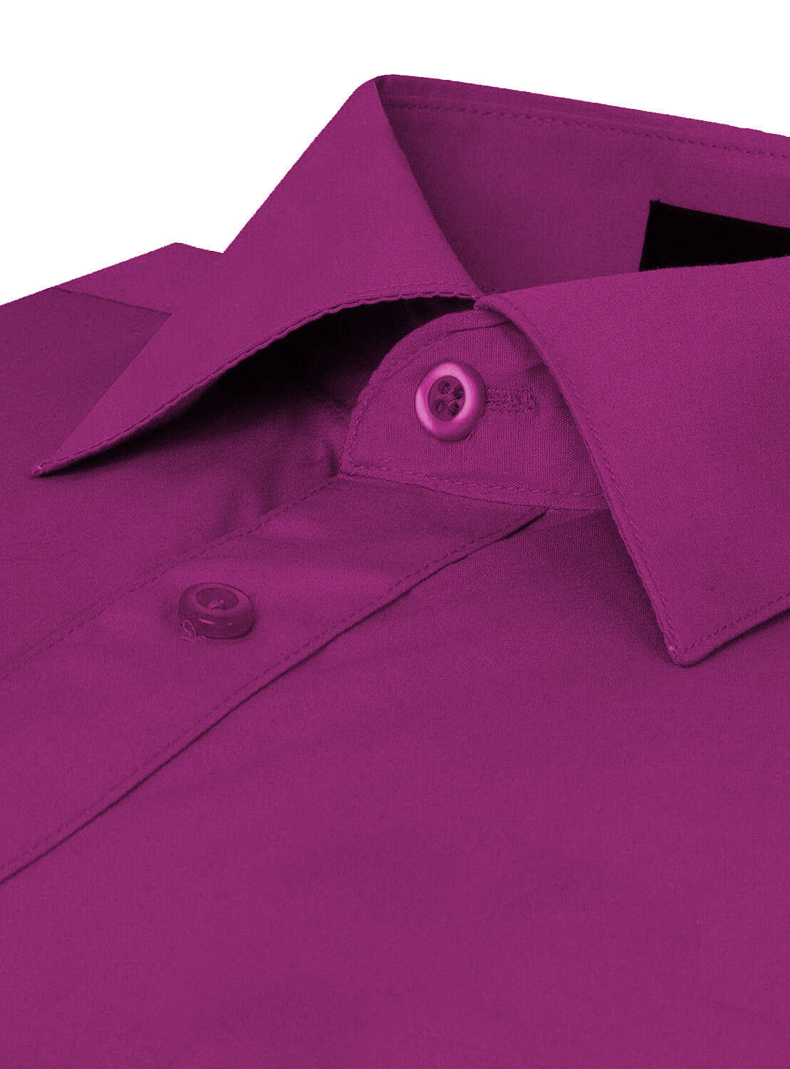 Omega-Italy-Men-039-s-Premium-Slim-Fit-Button-Up-Long-Sleeve-Solid-Color-Dress-Shirt thumbnail 85
