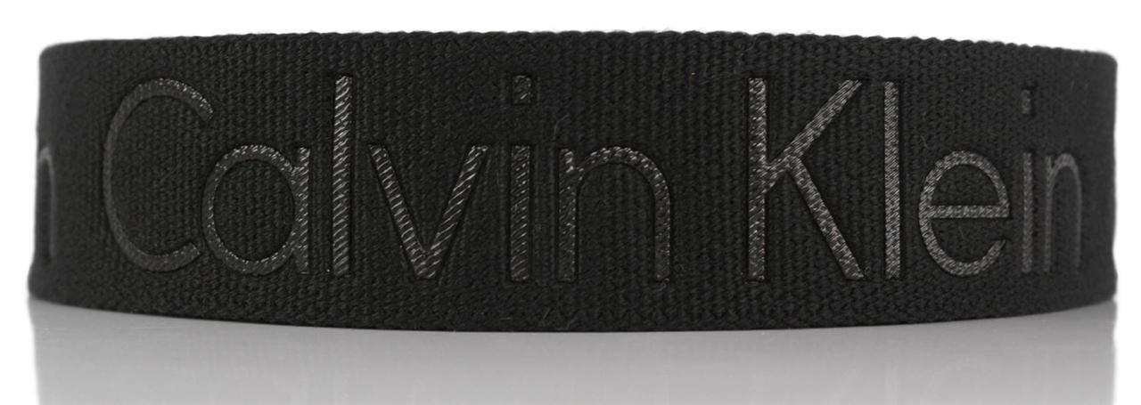 New-Calvin-Klein-Men-039-s-Premium-CK-Logo-Cotton-Adjustable-38mm-Canvas-Belt-73545 thumbnail 4