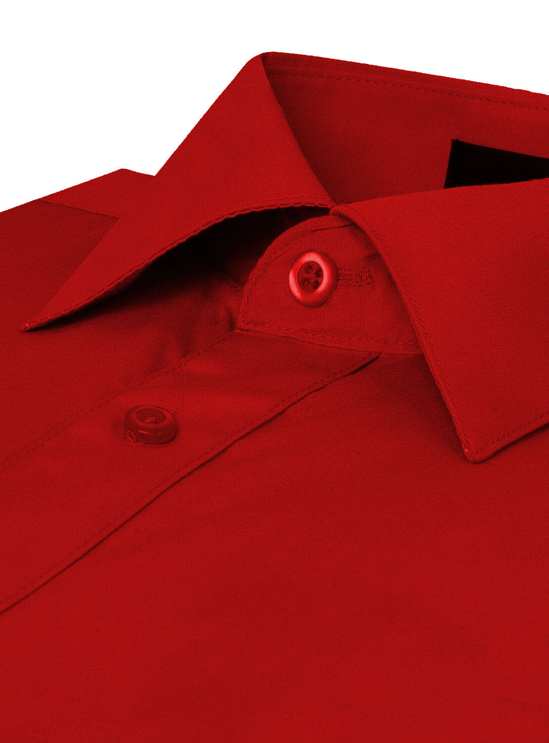 Omega-Italy-Men-039-s-Premium-Slim-Fit-Button-Up-Long-Sleeve-Solid-Color-Dress-Shirt thumbnail 110
