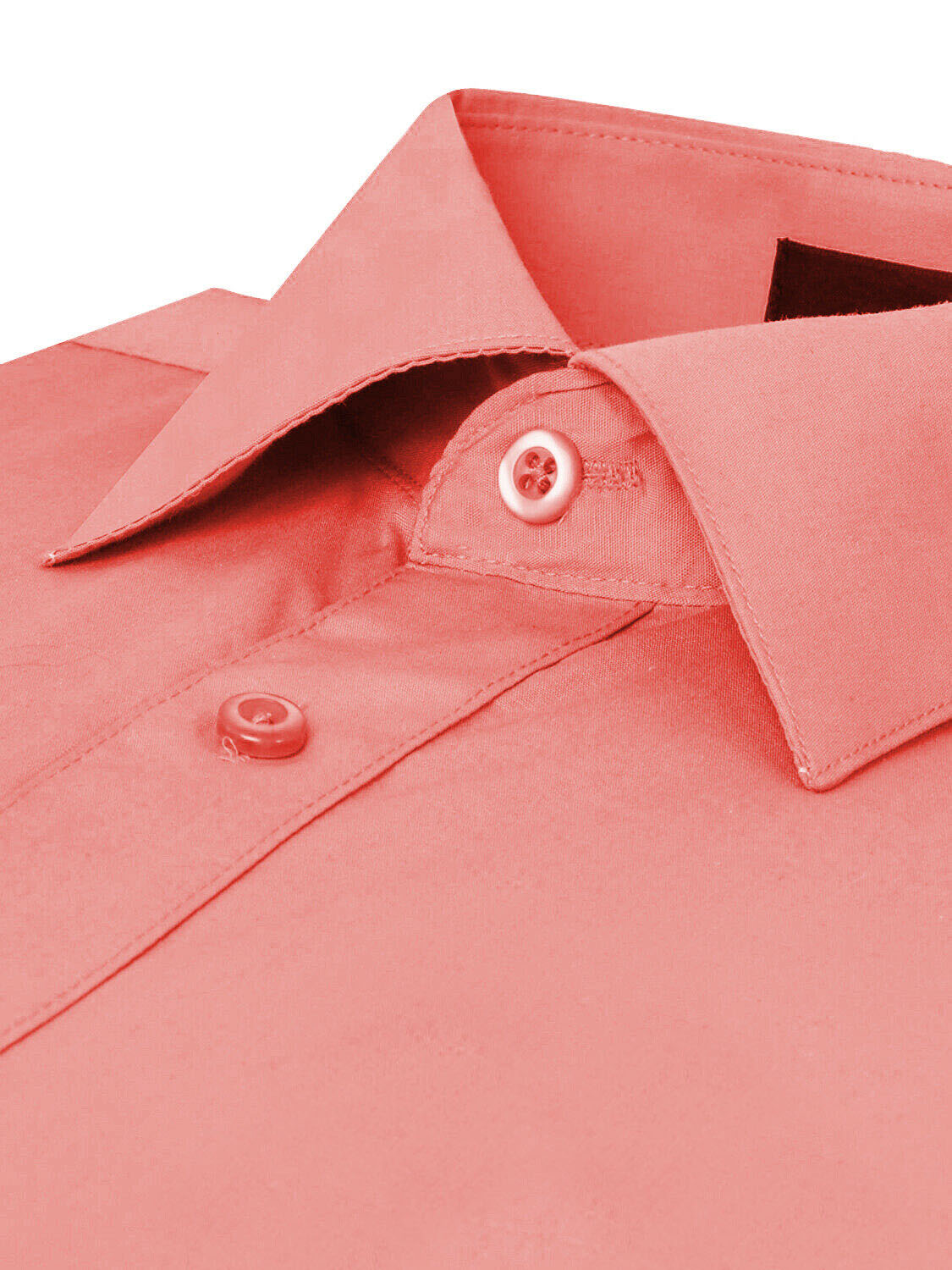 Omega-Italy-Men-039-s-Premium-Slim-Fit-Button-Up-Long-Sleeve-Solid-Color-Dress-Shirt thumbnail 25